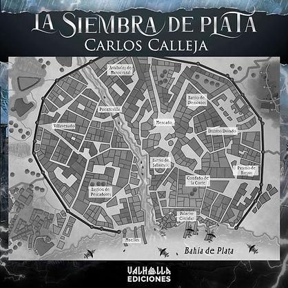 Caburh, ciudad en la que se desarrolla la historia (por Valhalla Ediciones)