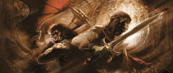 Mappo e Icarium, dos de los personajes más singulares de la novela