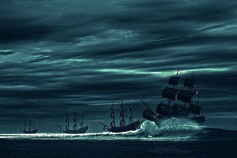 El mar, hogar y sueño de cualquier pirata