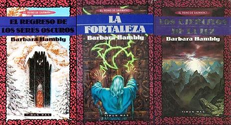 Portadas de la Trilogía de Darwath