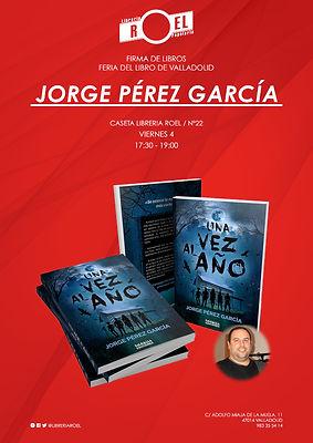 Una vez al año, firma de libros en la Feria del Valladolid