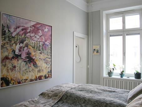 Så hänger du konsten snyggt och personligt hemma - 5 tips!