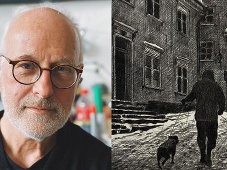 Mikael Kihlman porträtterar för första gången sin hemstad