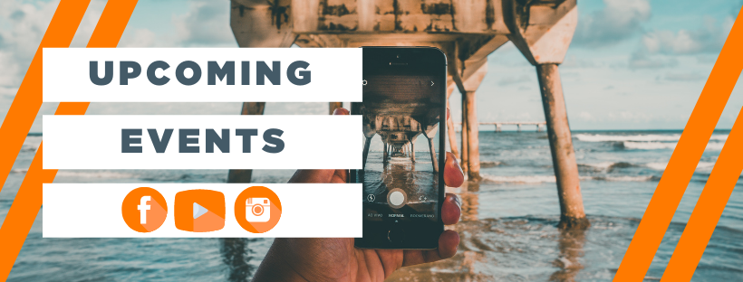 Events Header + Social Share