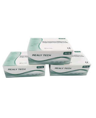 Realy Tech Rapid Antign Test Kit. Results in 10 minutes.