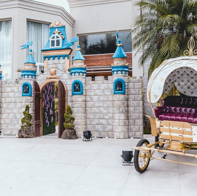 Entrada Festa Princesas