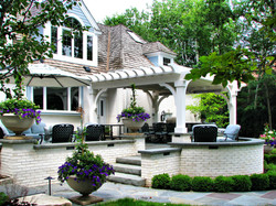 Lake Forest Outdoor Terrace Design