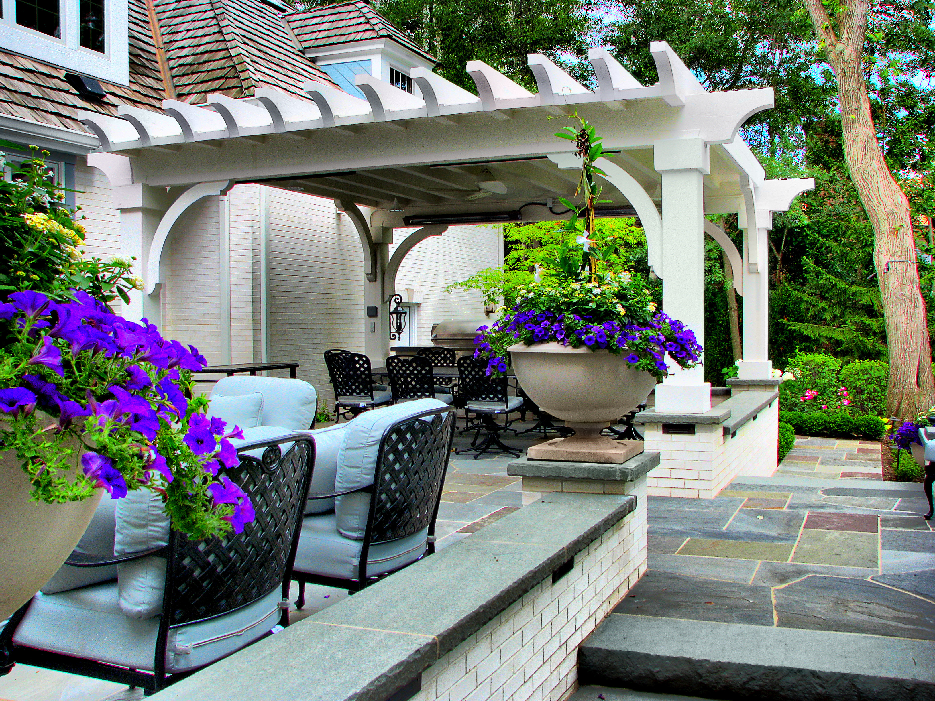 Lake Forest Pergola Woodwork