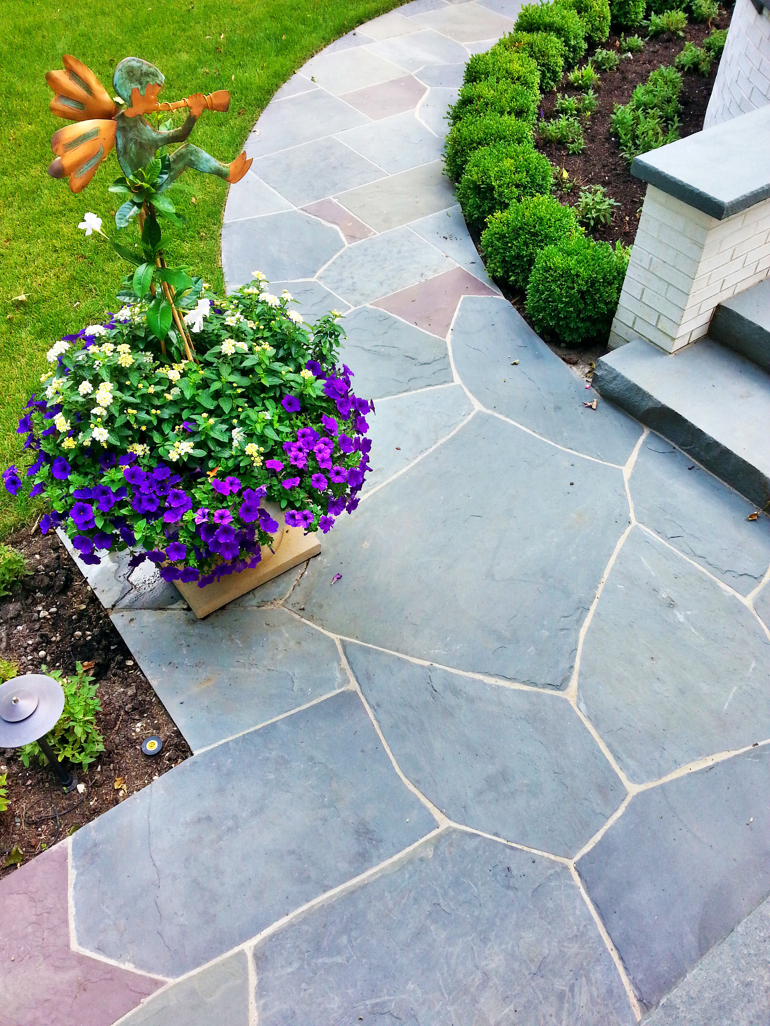 Irregular Bluestone Lake Forest IL