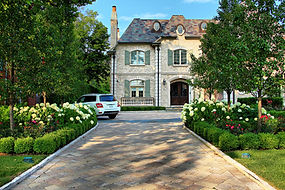 Glencoe French Chateau - Swimming Pool Design and Landscape