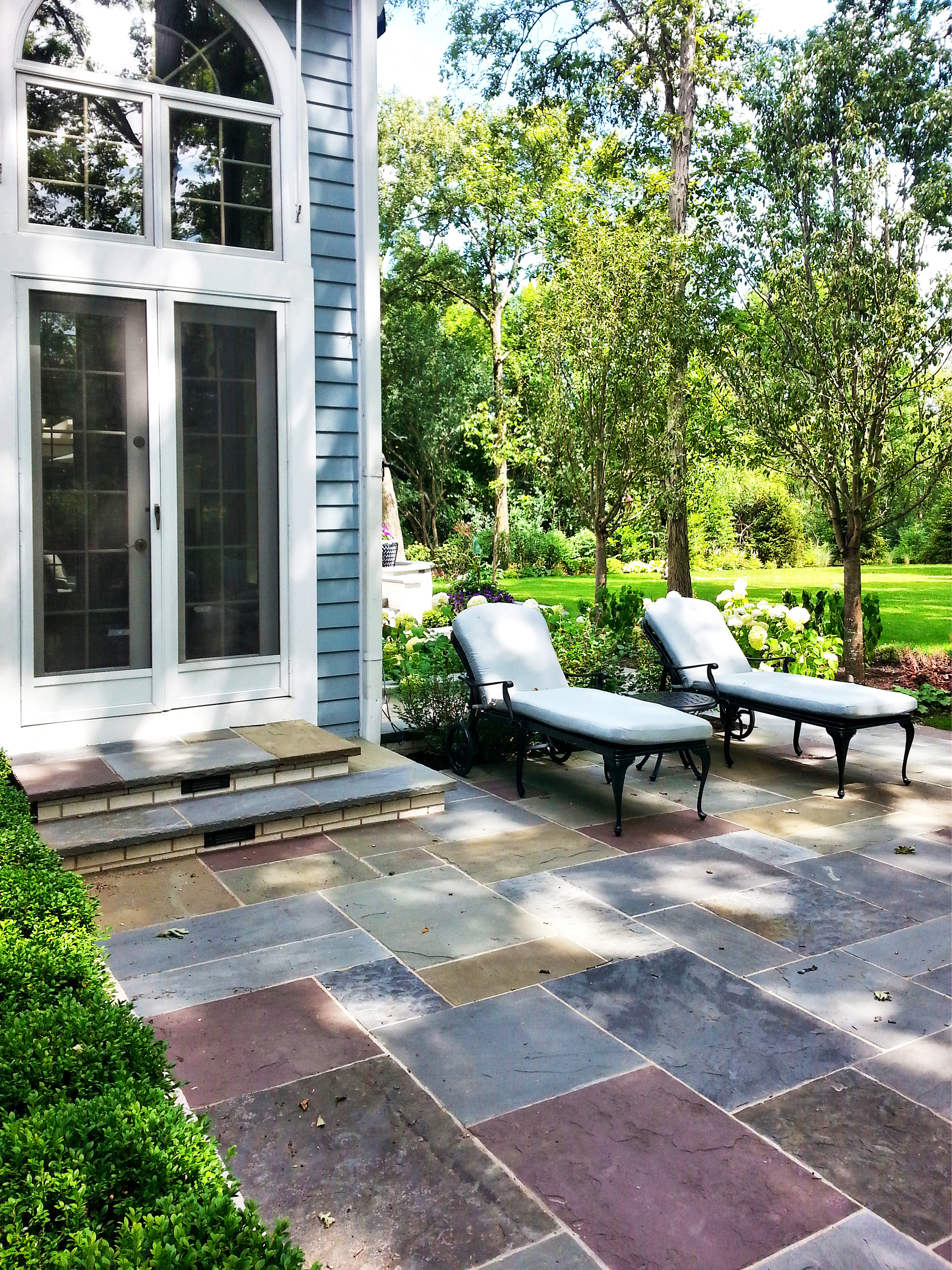 Bluestone Patio Lake Forest IL