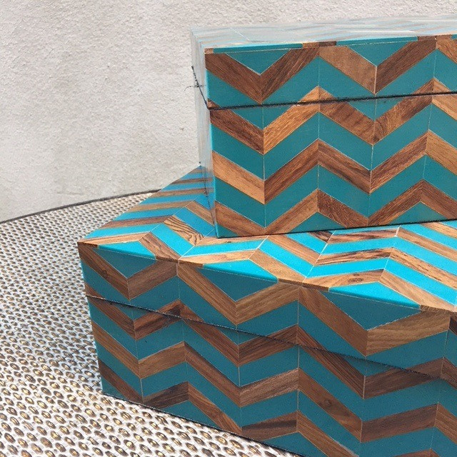 Turquoise Inlay Boxes