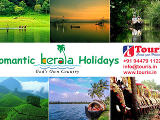 Romantic Kerala Holiday Packages... Explore God's own country with Touris.
