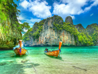 Tour Of Ko Phi Phi Island, Thailand