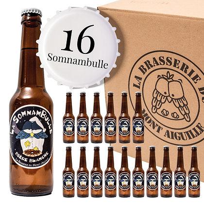 Somnambulle - Pack de 16 bières blanches