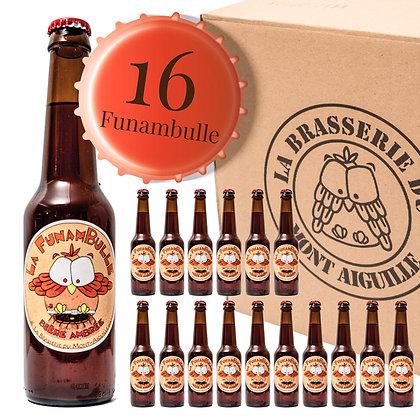 Funambulle - Pack de 16 bières ambrées