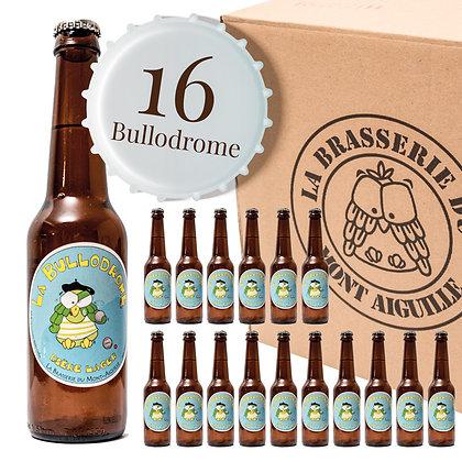 Bullodrome - Pack de 16 bières lager