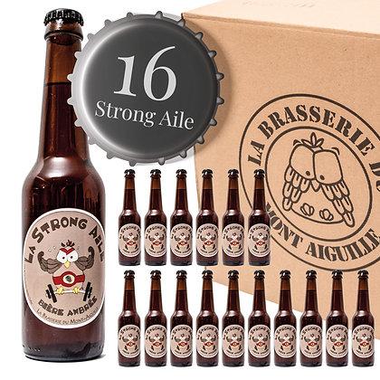 Strong Aile - Pack de 16 bières ambrées et fortes