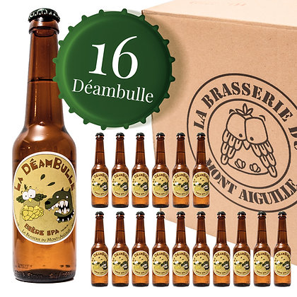 Déambulle - Pack de 16 bières IPA (Indian Pale Ale)