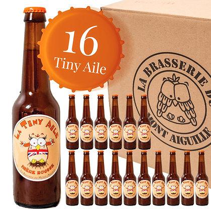 Tiny Aile - Pack de 16 bières rousses