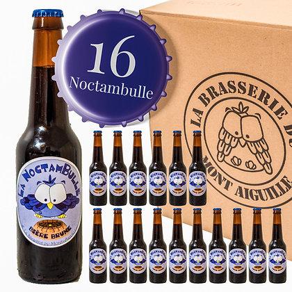 Noctambulle - Pack de 16 bières brunes