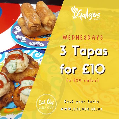 Galgos Latino Wednesday 3x10 Tapas