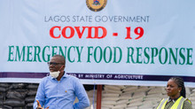 Sanwo-Olu Lauches COVID19 Emergency Food Response - Distributes Food To Residents