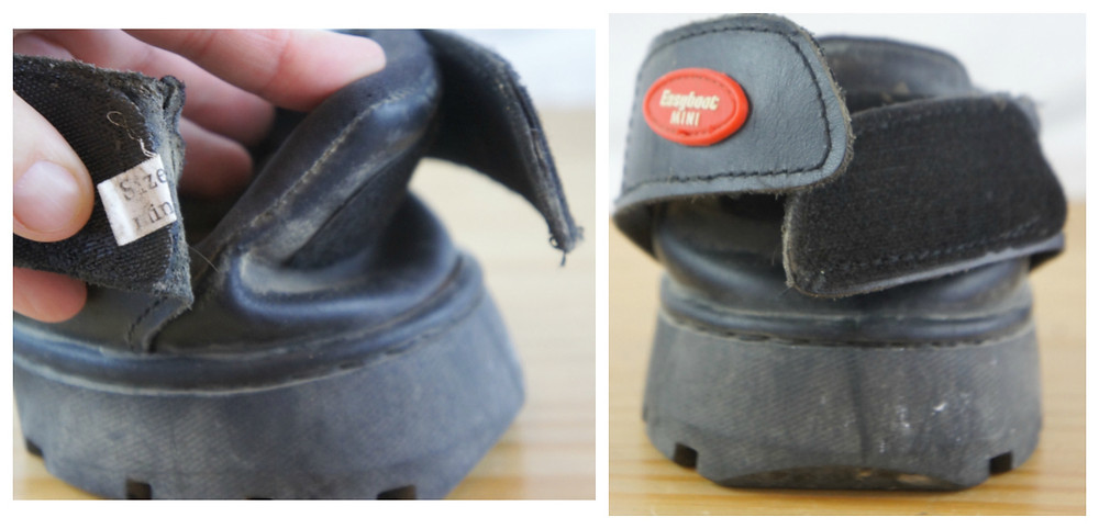 Easyboot front and closure