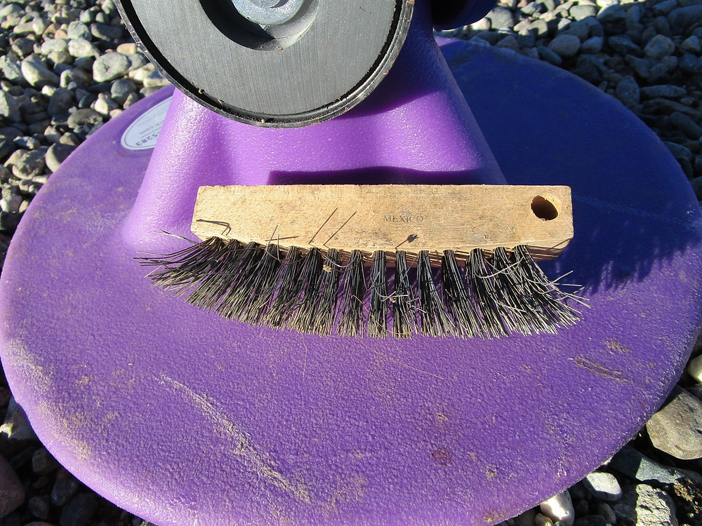 My wire bristle brush