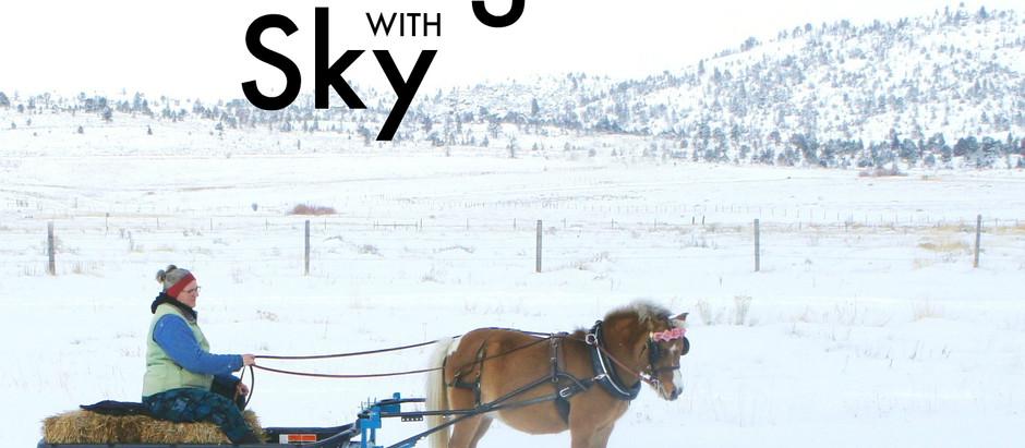 Sledding with Sky