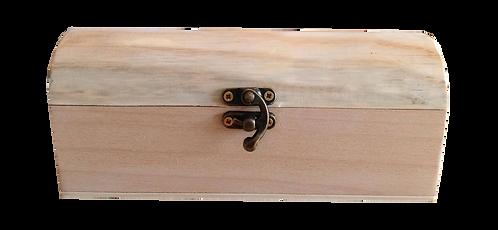 Κουτάκι ξύλινο με καπάκι καμπυλωτό 200-112