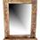 Thumbnail: Ξύλινος Καθρέφτης με ραφάκι