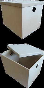 Μπαούλο με καπάκι κουμπωτό 000-104