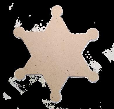 Αστέρι Σερίφη (σετ 3τεμ.)