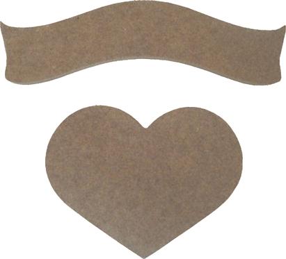 Κορδέλα με καρδιά 300-106