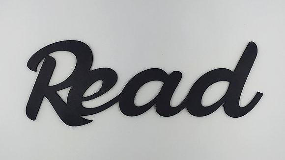 """Λέξη επιτοίχια """"Read"""" μαύρο"""