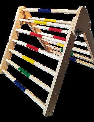 Climbing Triangle Pikler με χρωματιστά σκαλάκια (Τρίγωνο Αναρρίχησης)