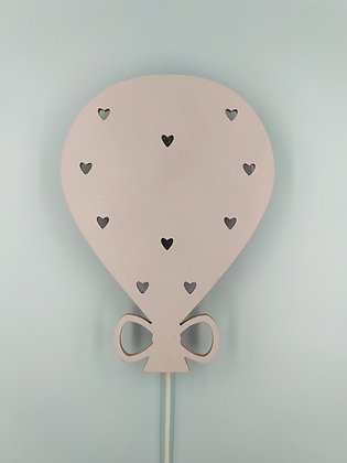 Φωτιστικό Μπαλόνι Ροζ