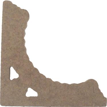 Γωνία (σετ 2τεμ.) 500-112