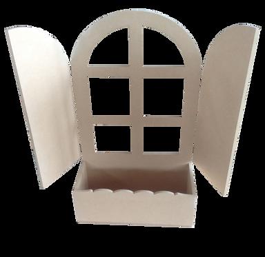 Παράθυρο με ζαρτινιέρα 100-112
