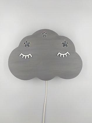 Φωτιστικό Σύννεφο Γκρι