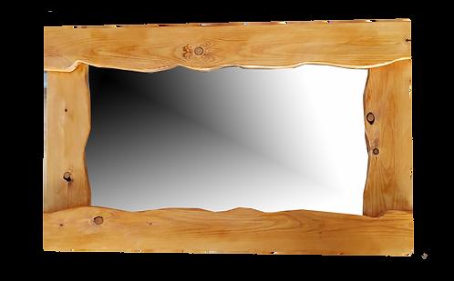 Ξύλινος Καθρέφτης Ακανόνιστος Εσωτερικά