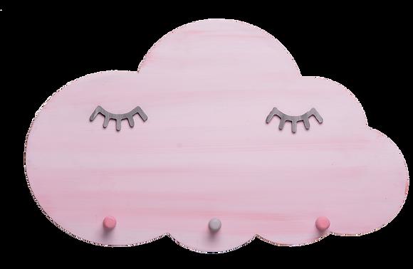 Κρεμάστρα Σύννεφο ροζ με βλεφαρίδες