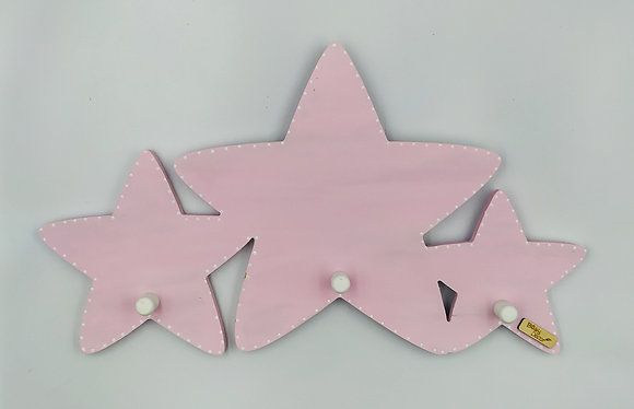 Κρεμάστρα Αστέρια ροζ