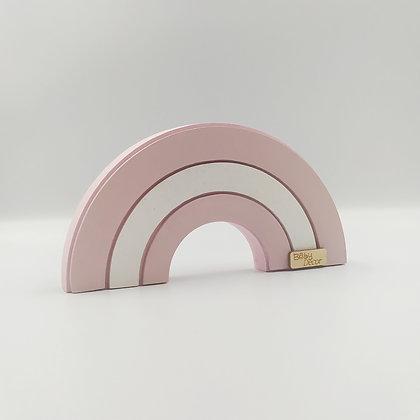 Ουράνιο Τόξο Απαλό Ροζ Λευκό