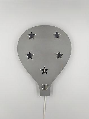 Φωτιστικό Αερόστατο γκρι