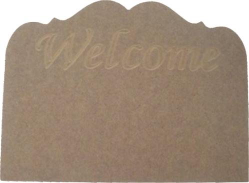 """Πλακέτα """"Welcome"""" 300-111"""