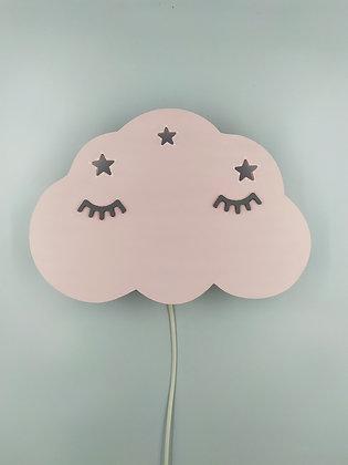 Φωτιστικό Σύννεφο Απαλό Ροζ