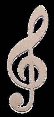 Κλειδί του Σολ (σετ 3τεμ.)