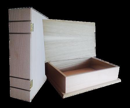 Ξύλινο Κουτί Βιβλίο 200-106